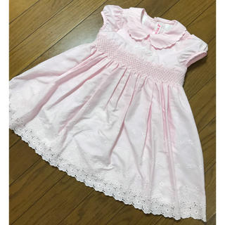272bdcd1fab72 mezzo piano - メゾピアノ☆ワンピース☆90☆花柄ピンク☆mezzo pianoの ...