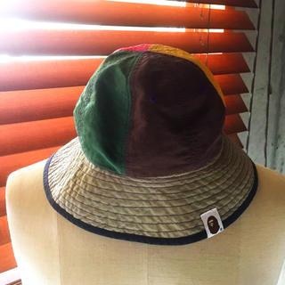 アベイシングエイプ(A BATHING APE)の専用 BAPEKIDS エイプキッズ ハット 帽子(帽子)