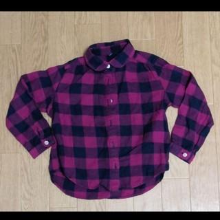 ユニクロ(UNIQLO)のユニクロ チェックシャツ 110(ブラウス)