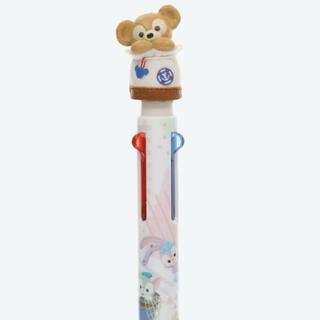 ダッフィー - 新品 ダッフィー かくれんぼ ディズニー シー ボールペン 多色ペン 3色ペン
