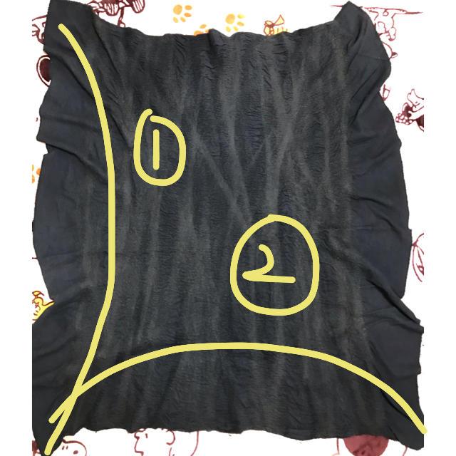 Paul Harnden(ポールハーデン)のBiek Verstappen  纏う布  メンズのファッション小物(ストール)の商品写真