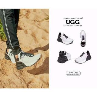 アグ(UGG)の2019年新発売美品UGG OZWEAR OB419 🆕紳士本革スニーカー (スニーカー)