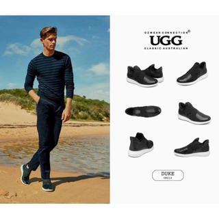 アグ(UGG)の2019年新発売美品UGG OZWEAR OB414🆕紳士本革スニーカー (スニーカー)