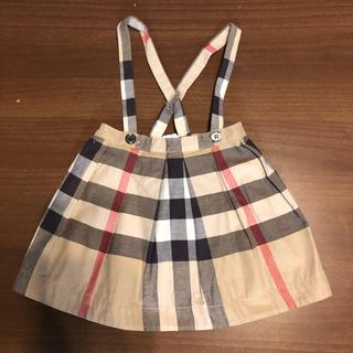 バーバリー(BURBERRY)の美品☆バーバリー☆スカート 80(スカート)