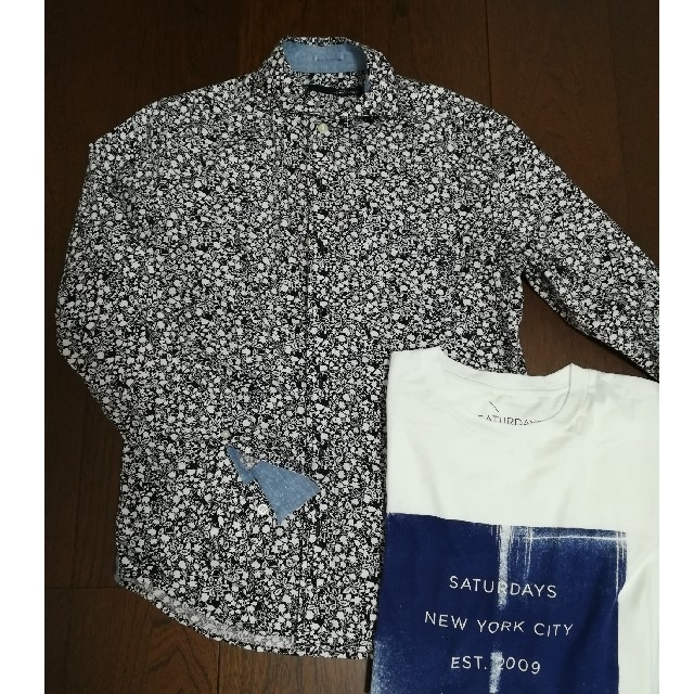 nano・universe(ナノユニバース)のnano・universe花柄メンズシャツ ナノ・ユニバース メンズのトップス(シャツ)の商品写真