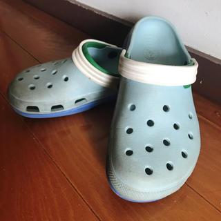 クロックス(crocs)のクロックス  w8 m6(サンダル)