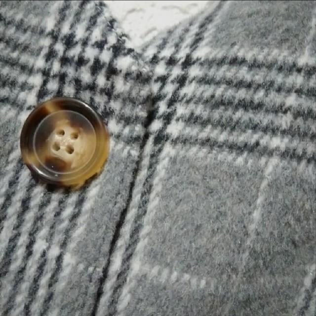 しまむら(シマムラ)の新品 しまむら グレンチェック柄 オールインワン♥️3L アベイル GU レディースのパンツ(オールインワン)の商品写真