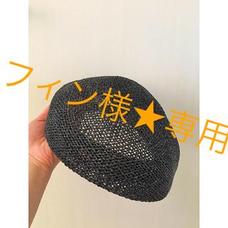 CA4LA - CA4LA 麦藁 ベレー帽