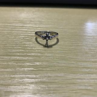 クロムハーツ(Chrome Hearts)のZ000004 クロムハーツ CHクロスリング(リング(指輪))