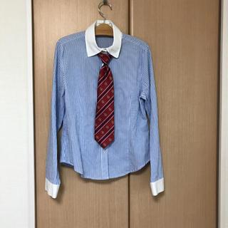 キャサリンコテージ(Catherine Cottage)のキャサリンコテージ160 カッターシャツ160ストライプシャツ(ドレス/フォーマル)