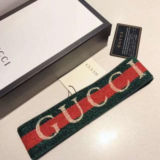 グッチ(Gucci)のグッシーGUCCI ヘアバンド 男女兼用(ヘアバンド)