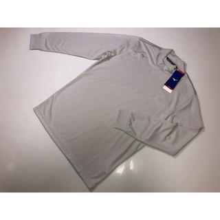 ミズノ(MIZUNO)の351MIZUNO ミズノ◆ブレスサーモ 灰色 グレー系Mサイズトップス長袖発熱(Tシャツ/カットソー(七分/長袖))