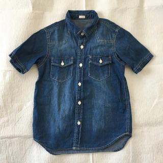 ジーユー(GU)のGU ダンガリーシャツ 130(Tシャツ/カットソー)