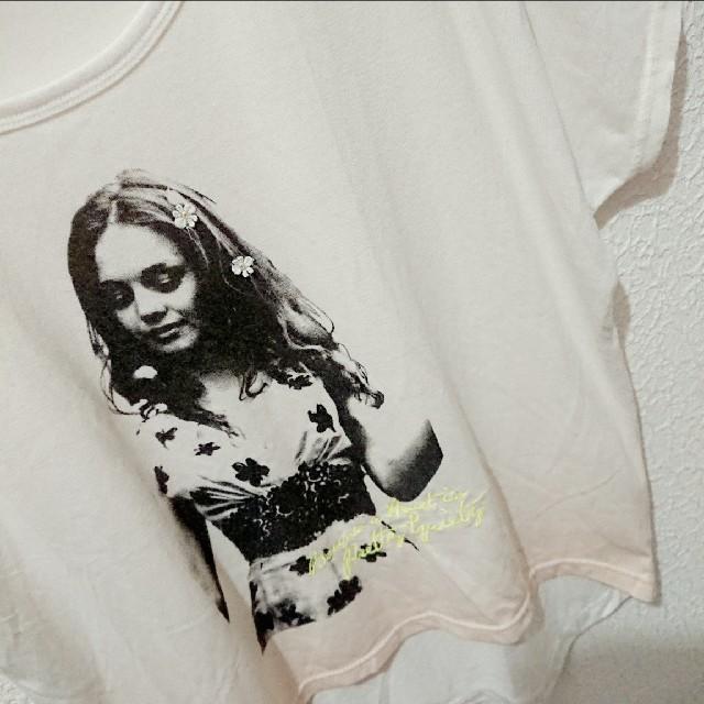 しまむら(シマムラ)のしまむら ロング シャツ♥️Lサイズ WEGO スピンズ レディースのトップス(Tシャツ(半袖/袖なし))の商品写真