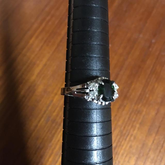 グリーントルマリン リング  レディースのアクセサリー(リング(指輪))の商品写真