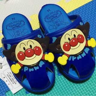 アンパンマン(アンパンマン)の【新品】アンパンマン 靴 サンダル スリッパ  青(サンダル)