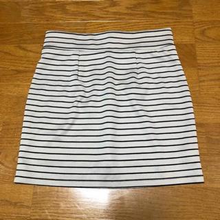 ローリーズファーム(LOWRYS FARM)のローリーズファーム ボーダースカート♡(ミニスカート)