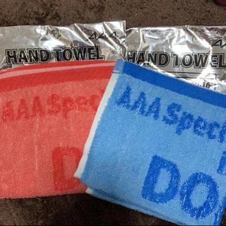 AAA - 【ラクマ最安値】AAA ハンドタオルセット
