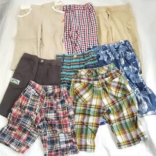 アディダス(adidas)の男の子 ハーフパンツ まとめ売り 130 アディダス含む(パンツ/スパッツ)