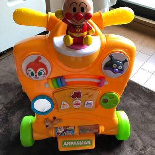 アンパンマン(アンパンマン)のアンパンマン 2ウェイ ベビーウォーカー (手押し車/カタカタ)
