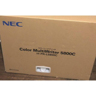 エヌイーシー(NEC)の【送料無料】無線レーザープリンタ Color MultiWriter 5800C(PC周辺機器)