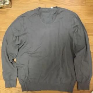 ニット セーター ベージュ グレー 灰色 長袖(ニット/セーター)