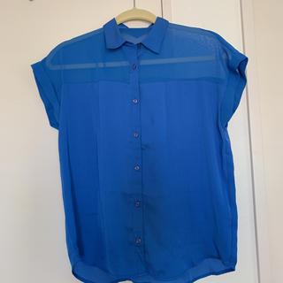 ジーユー(GU)のGU ブラウス Sサイズ(シャツ/ブラウス(半袖/袖なし))