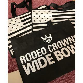 ロデオクラウンズワイドボウル(RODEO CROWNS WIDE BOWL)のRCWB★旧ショッパー中サイズ★(ショップ袋)