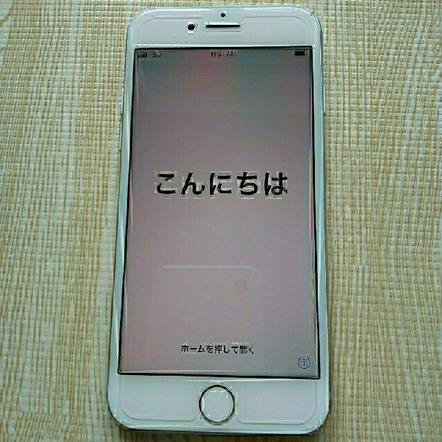iPhone(アイフォーン)の② iPhone 8 silver 64 GB ほぼ未使用に近い スマホ/家電/カメラのスマートフォン/携帯電話(スマートフォン本体)の商品写真