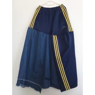 アディダス(adidas)のマナ様専用 ジャージリメイクスカート(ロングスカート)