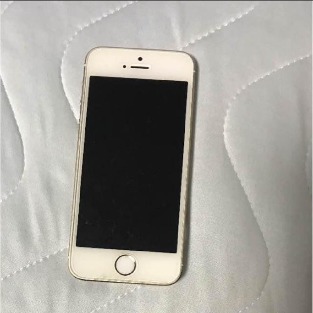 iPhone 5s Gold 64 GB au スマホ/家電/カメラのスマートフォン/携帯電話(スマートフォン本体)の商品写真