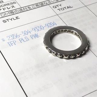 クロムハーツ(Chrome Hearts)のクロムハーツ トゥルーファッキンパンクリング プラスパンク 8号(リング(指輪))