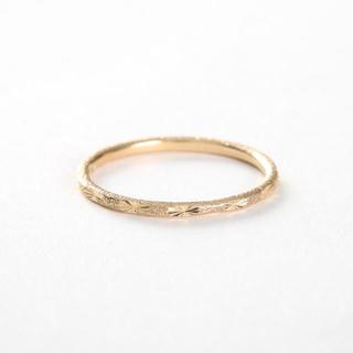 エテ(ete)のete リング クレール オルオレールカット k10YGイエローゴールド指輪(リング(指輪))