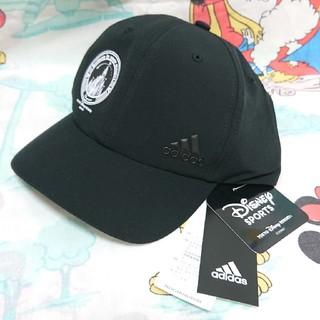 アディダス(adidas)のキャップ adidas ディズニーランド アディダス 帽子 黒 ブラック(キャップ)