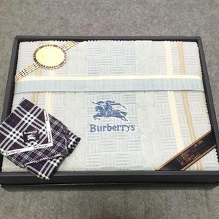 バーバリー(BURBERRY)の新品 Burberry タオルケット ハンカチおまけ バーバリー(タオルケット)