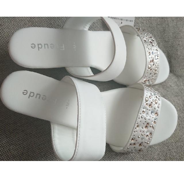 しまむら(シマムラ)のしまむら ダブルベルトサンダル レディースの靴/シューズ(サンダル)の商品写真