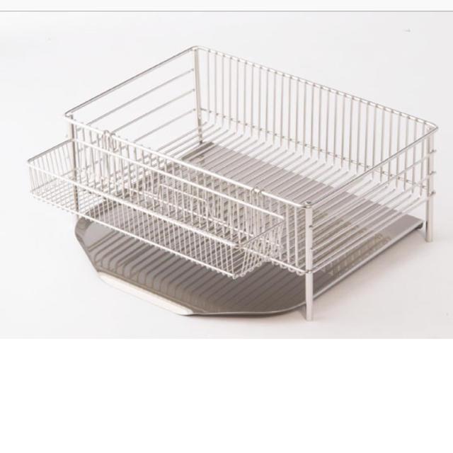 ラバーゼ 水切りかご  インテリア/住まい/日用品の収納家具(キッチン収納)の商品写真