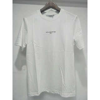 ステラマッカートニー(Stella McCartney)のSTELLA MCCARTNEY ホワイト Tシャツ お肌に親しい 新品(Tシャツ/カットソー(半袖/袖なし))