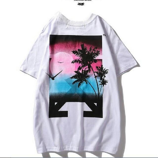 OFF-WHITE(オフホワイト)の   OFF-WHITE (オフホワイト) Tシャツ メンズシャツ  メンズのトップス(Tシャツ/カットソー(半袖/袖なし))の商品写真