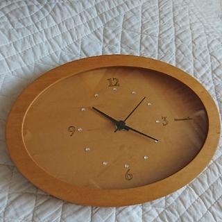 アフタヌーンティー(AfternoonTea)のAfternoon Tea ラインストーンクロック(置時計)