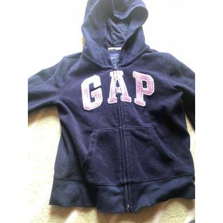 ギャップキッズ(GAP Kids)のGAPパーカー スパンコール130cm(ジャケット/上着)