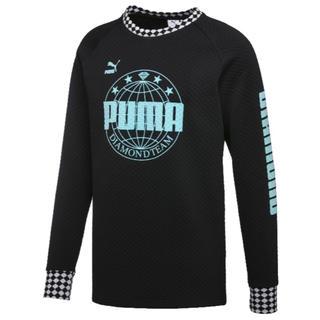 プーマ(PUMA)のプーマ&ダイヤモンド クルー コラボ  スエット カットソー(その他)