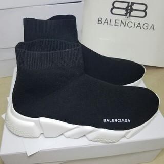 アディダス(adidas)のBALENCIAGAのスピードトレーナー バレンシアガ スニーカー 付属品完備`(スニーカー)