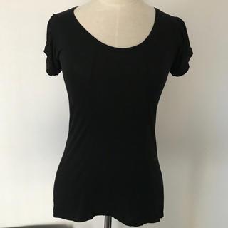 プーマ(PUMA)のPUMA トップス 黒(カットソー(半袖/袖なし))