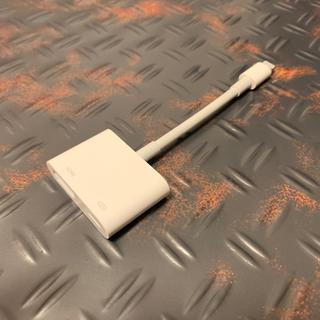 アップル(Apple)の超美品 Apple Lightning 純正 HDMI MD826AM/A (映像用ケーブル)