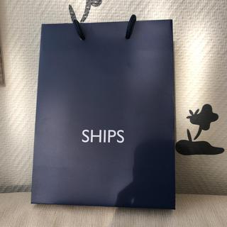 シップス(SHIPS)のships シップス 紙袋 ショッパーバッグ(ショップ袋)