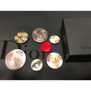 DIOR HOMME - Dior homme ディオールオム 15aw 押し花 缶バッチ KK様 専用