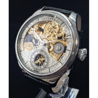 Tiffany & Co. - ◆ティファニー◆OH済/レア/フルスケルトン/手巻/腕時計/アンティーク