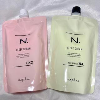 NAPUR - 【新品】N. エヌドット スリーククリーム NA/OX 2剤 セット