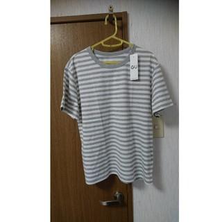 ジーユー(GU)のGU  ボーダーTシャツ  新品タグつき  大きいサイズ(Tシャツ(半袖/袖なし))